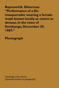 006_Photograph_Silverman_Do_masquerader_Sorobango